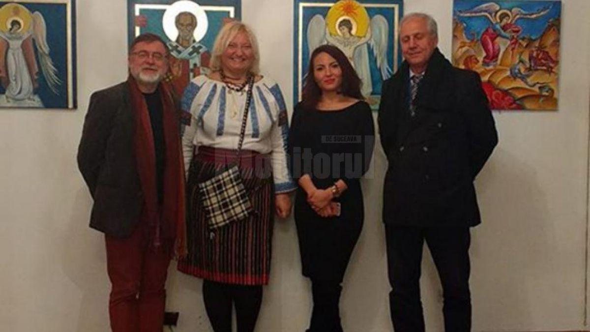 """Dramaturgul Matei Vişniec a participat la deschiderea expoziţiei """"Culorile Bucovinei"""", la Paris"""